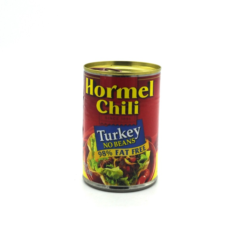 HORMEL CHILLI-TURKEY NO BEANS