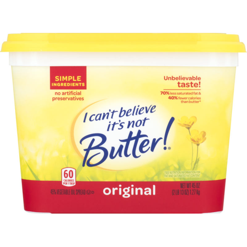 I CAN'T BELEIVE ITS' NOT BUTTER-ORIGINAL