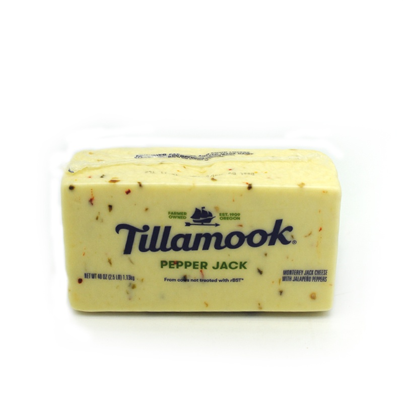 TILLAMOOK-PEPPER JACK CHEESE