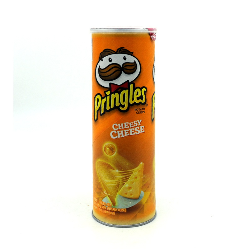 PRINGLES-CHEESY CHEESE CHIPS