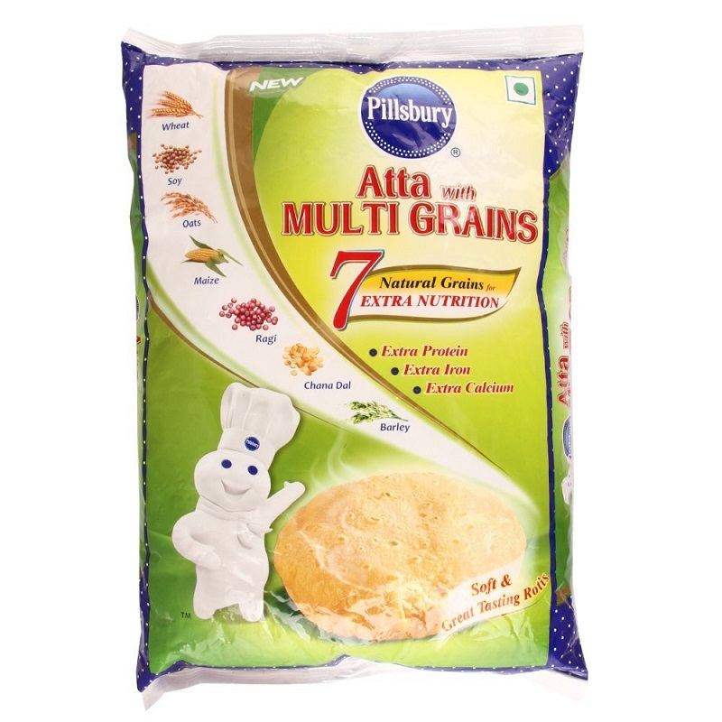 PILLSBURRY-MULTIGRAIN FLOUR (ATTA)