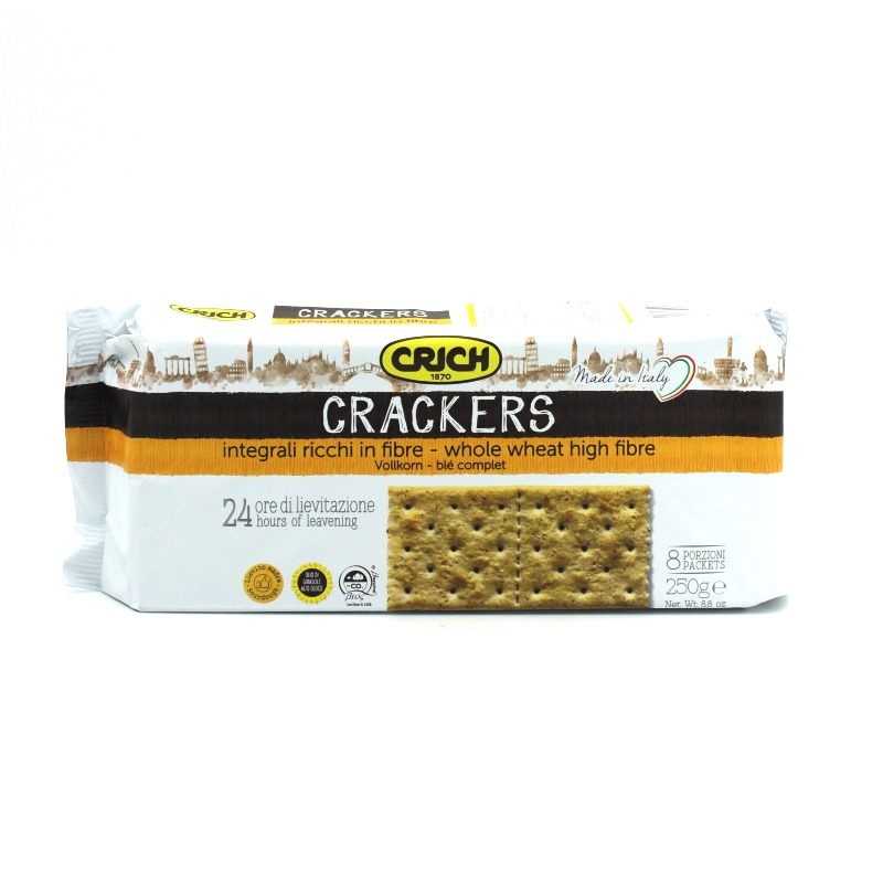CRICH-WHOLE WHEAT CRACKERS
