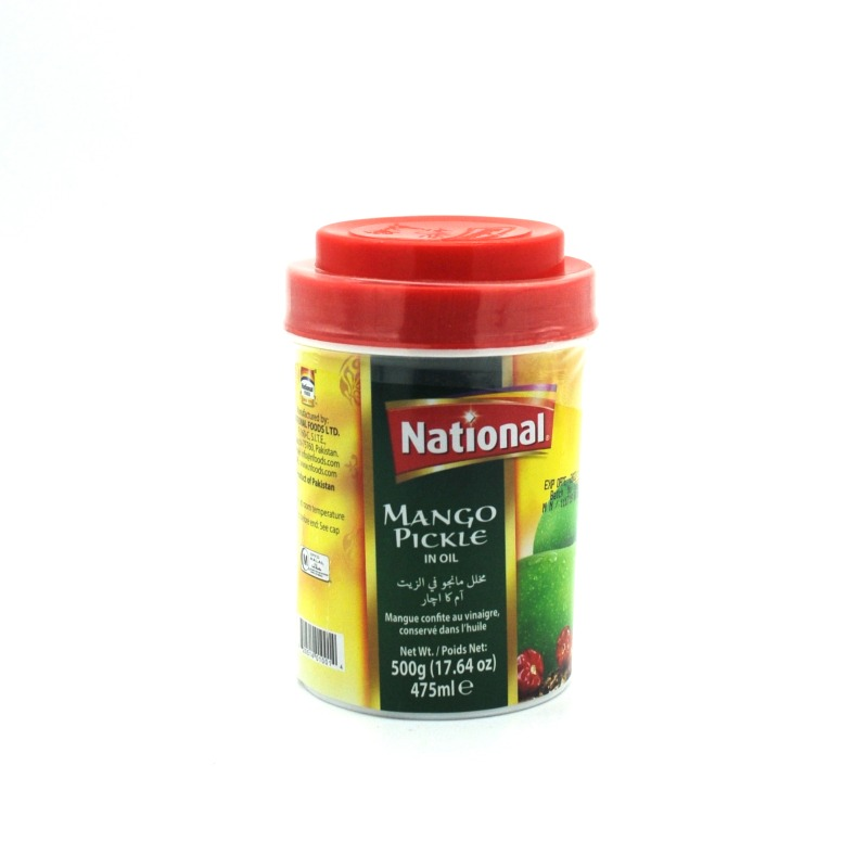 NATIONAL-MANGO PICKLE IN OIL