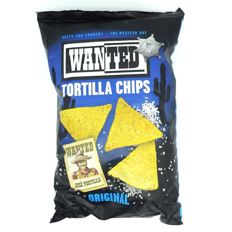 WANTED-TORTILLA CHIPS SALTED
