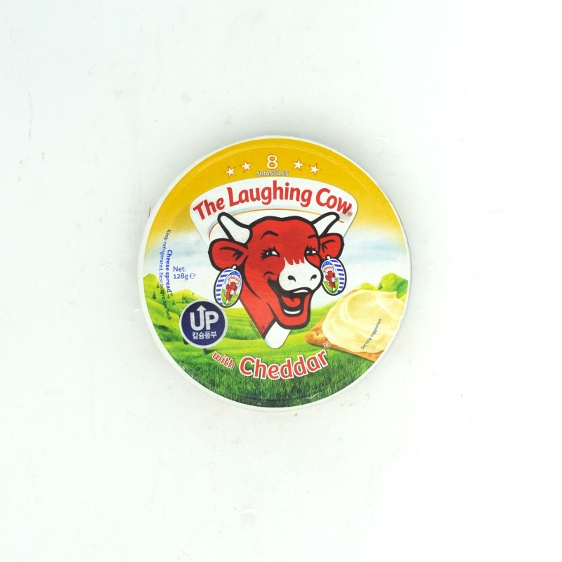THE LAUGHING COW-WITH CHEDDAR CHEESE