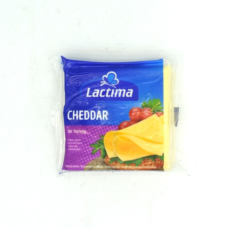 LACTIMA-CHEDDAR CHEESE SLICES