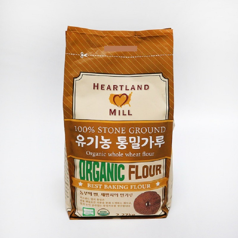 HEARTLAND MILL-ORGANIC WHOLE WHEAT FLOUR