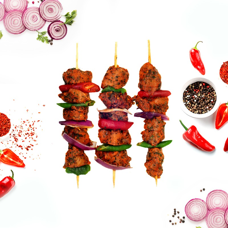 SHEJANG-MARINATED CHICKEN SHASHLIK (SHISH KEBAB)