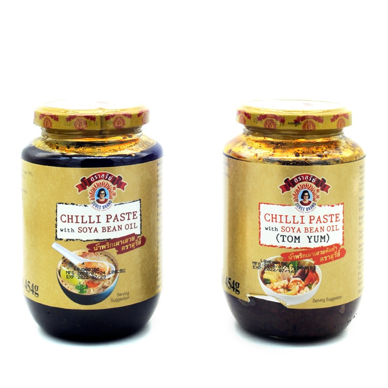 SUREE-CHILLI PASTE WITH SOYA BEAN OIL