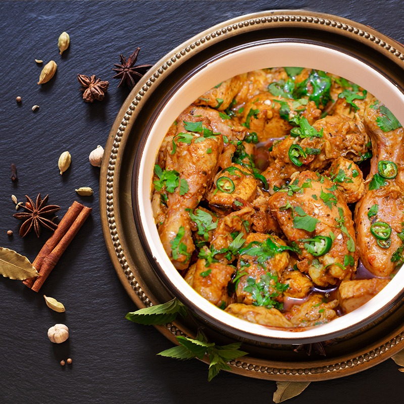 SHEJANG-READY TO COOK MARINATED CHICKEN KARAHI