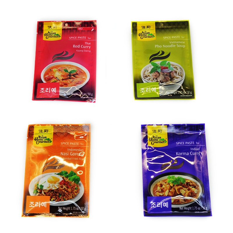 ASIAN HOME GOURMET-SOUTH EAST ASIAN SPICES MIX (4 TYPES)