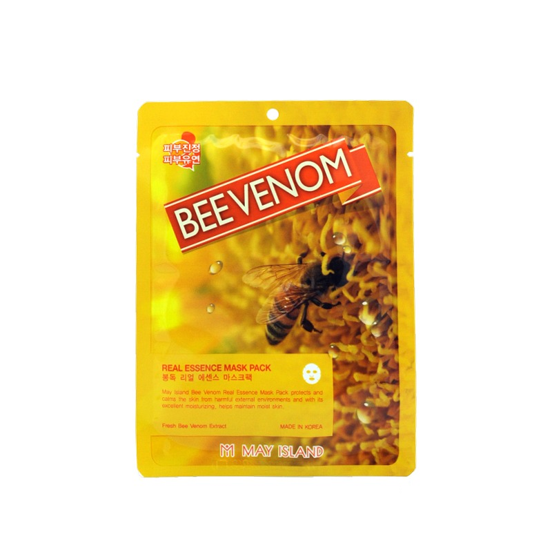 MAY ISLAND-BEE VENOM REAL ESSENCE MASK PACK