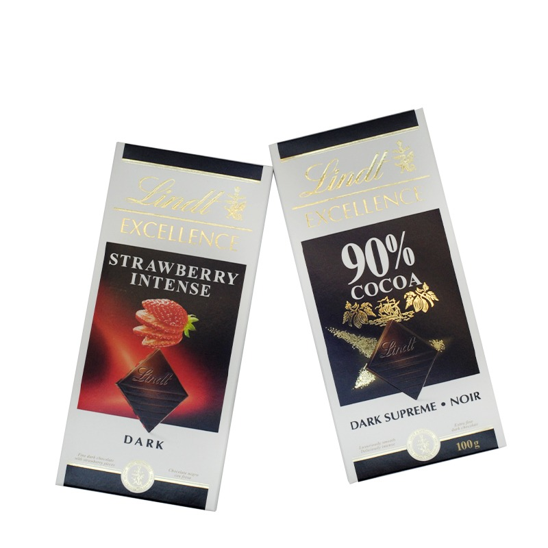 LINDT-STRAWBERRY INTENSE DARK & DARK SUPREME NOIR CHOCOLATES